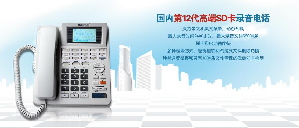 国内第12代高端SD卡录音电话